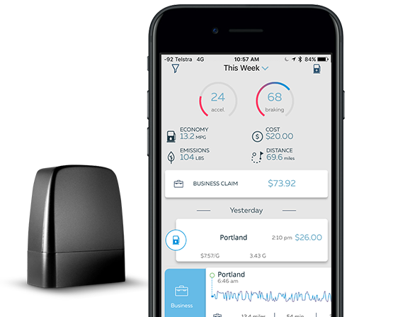 mileage tracker and logbook app