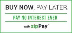 ZipPay, Buy now, pay later.