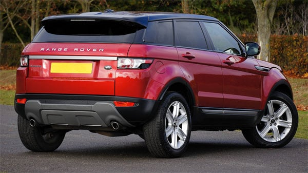 Range Rover - a recommended Uber car