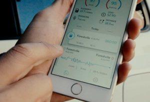 GOFAR app on smartphone