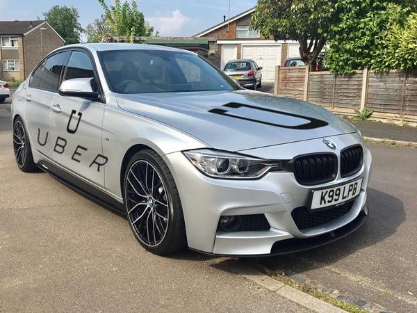A BMW car