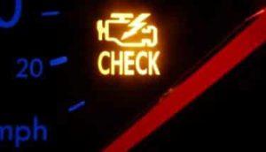 car check engine warning light