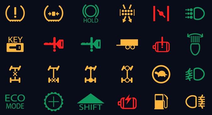 Vehicle Lighting Symbols Gofar