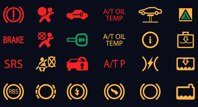 Car Warning Light Symbols And Indicators Gofar