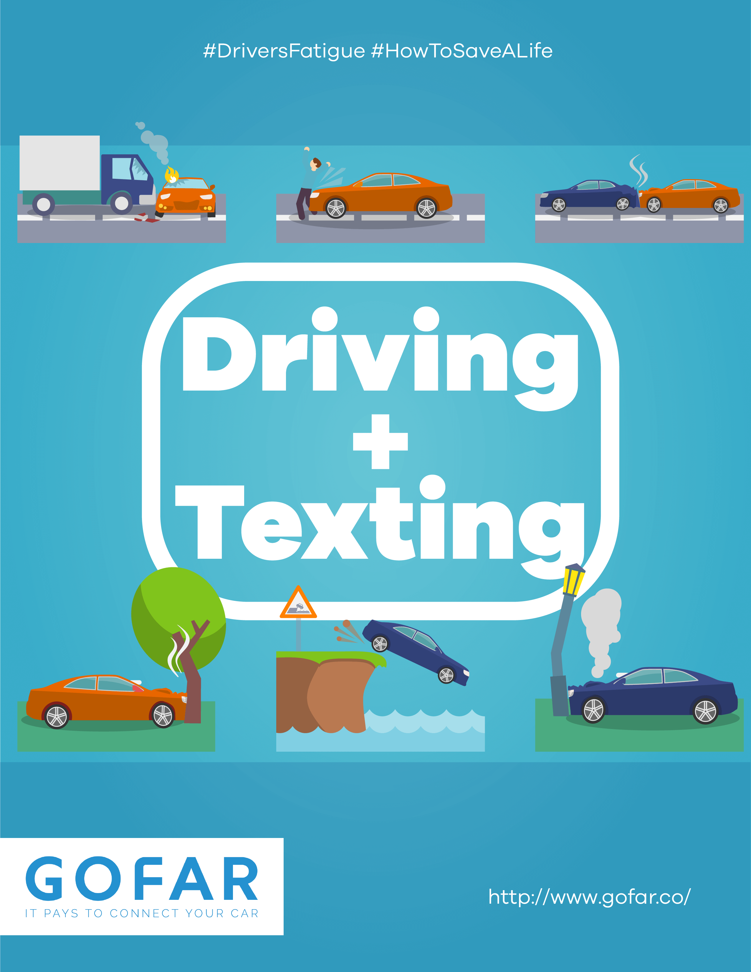 Road Safety Posters Gofar