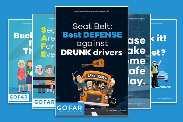 seat belt safety road safety posters thumbnail