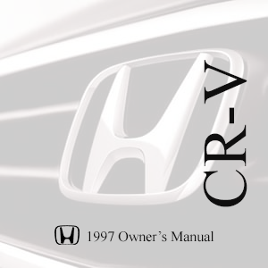 2002 honda crv owners manual