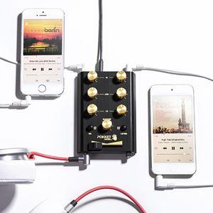iphone and pocket dj mixer