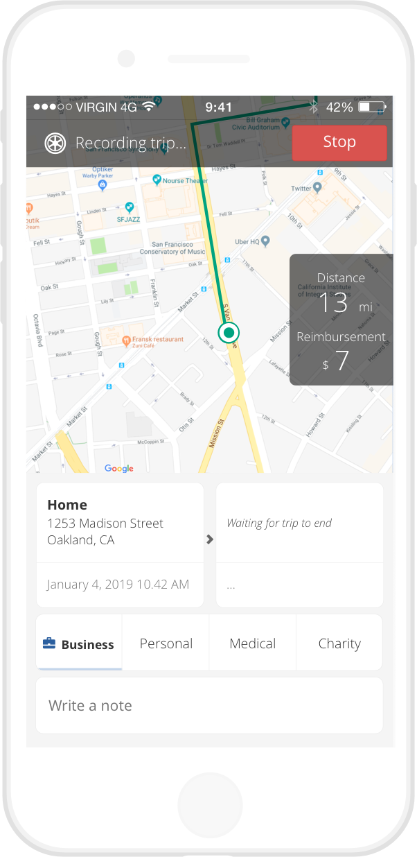 driversnote digital tracker