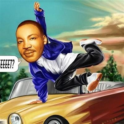 Drive Caricature