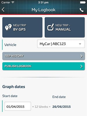 Directdriver logbook apps
