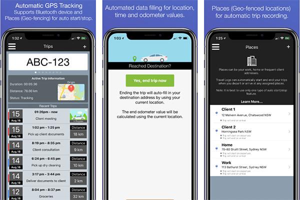 travel logs apps