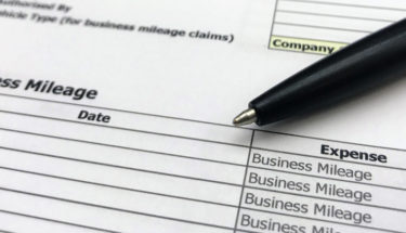 Business Mileage form