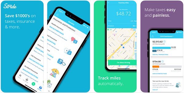 Stride: Mileage and Tax Tracker