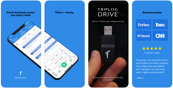 TripLog Car Mileage Tracker