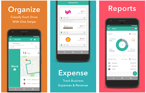 Everlance Mileage and Expense Tracker