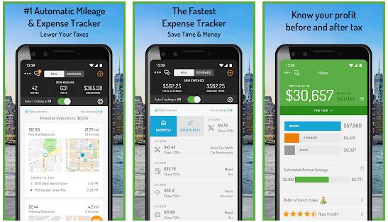 Hurdlr Mileage tracker app