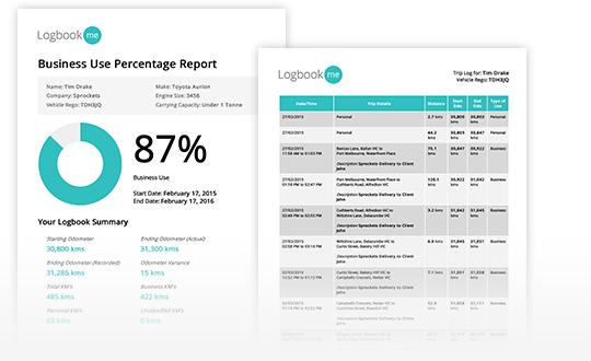 LogbookMe Sample Reports