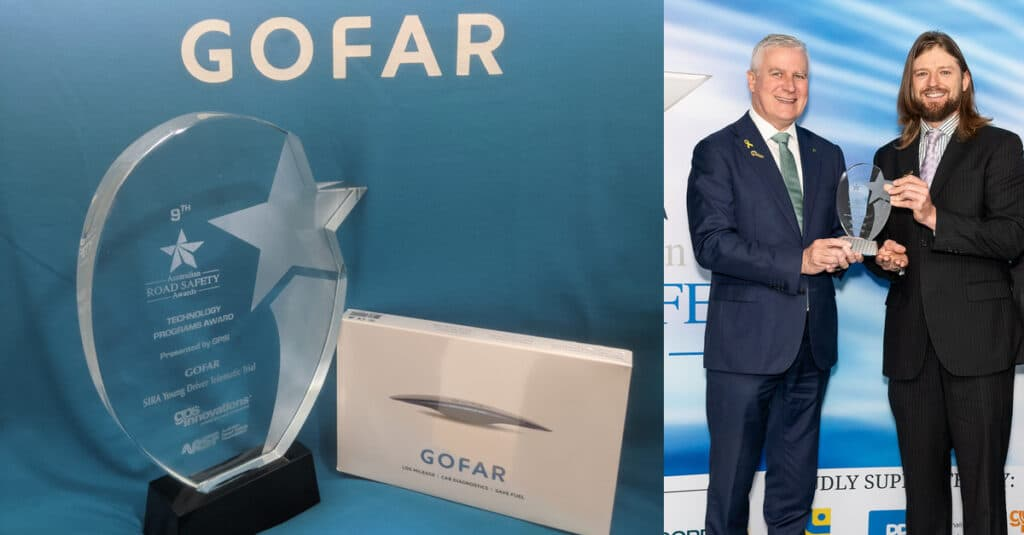 GOFAR receives ARSF Road Safety Technology Award 2021